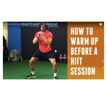 How to warm-up before a HIIT session | The Body Coach - Joe Wicks