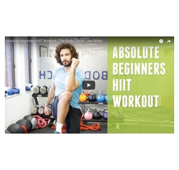 Absolute Beginners HIIT Workout | The Body Coach | Joe Wicks