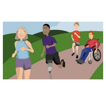 Being Active Guide - English Federation of Disability Sport