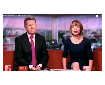 Mindfulness on BBC Breakfast