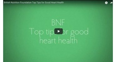 British Nutrition Foundation Top Tips for Good Heart Health