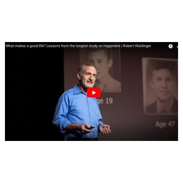 What makes a good life? Lessons from the longest study on happiness | Robert Waldinger - Ted Talk