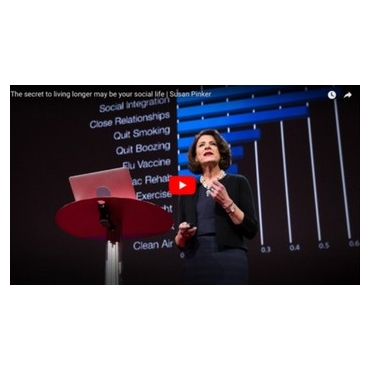 The secret to living longer may be your social life - Susan Pinker - Ted Talk