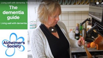 Living well with dementia:  Alzheimer's Society