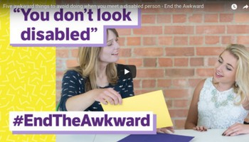 Five awkward things to avoid doing when you meet a disabled person - End the Awkward