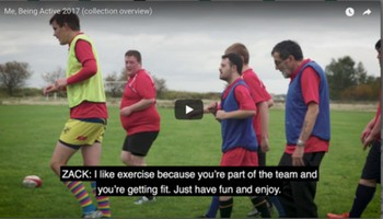 Me, Being Active 2017 (collection overview) - English Federation of Disability Sport