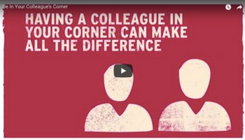 Be In Your Colleague's Corner - Time To Change
