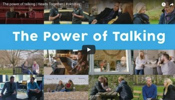The power of talking | Heads Together | #oktosay