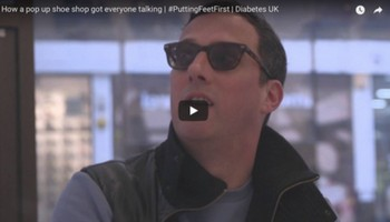 How a pop up shoe shop got everyone talking | #PuttingFeetFirst | Diabetes  UK